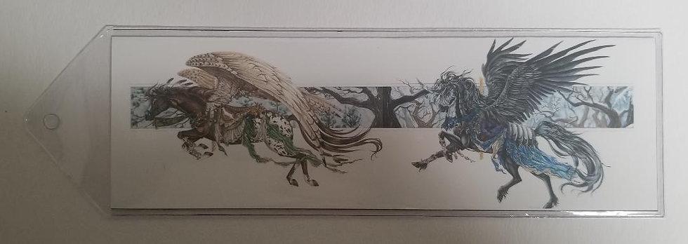 Carousel Horses Bookmark