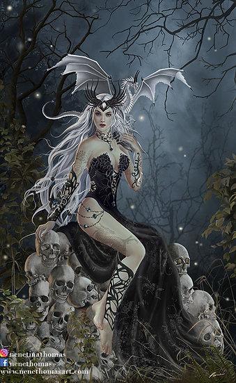 Mad Queen Art Print