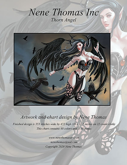 Thorn Angel Regular Cross-Stitch (Downloadable PDF)