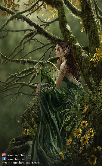 Queen of Fate Art Print