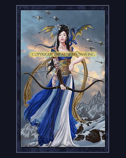 Yukikaze, Lady of Winds 8 x 10 Print