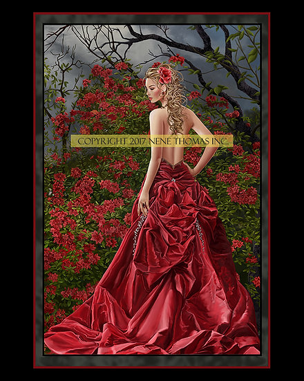 Tais in Red 8 x 10 Print
