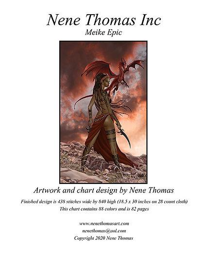 Mieke Epic Cross-Stitch (Downloadable PDF)