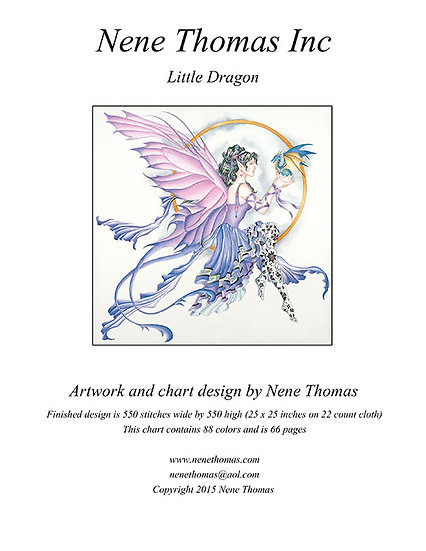 Little Dragon Regular Cross-Stitch (Downloadable PDF)