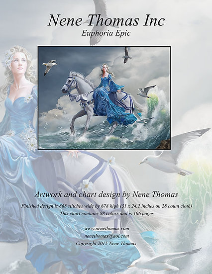 Euphoria Epic Cross-Stitch (Downloadable PDF)