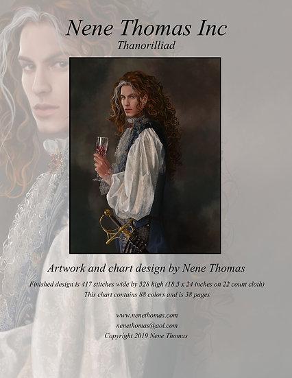 Thanorilliad Regular Printed Cross-Stitch
