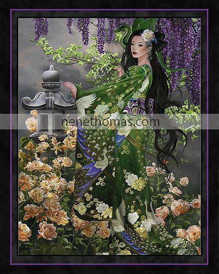 Queen of Jade 8 x 10 Print