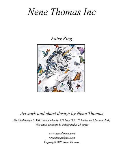 Faery Ring Regular Printed Cross-Stitch