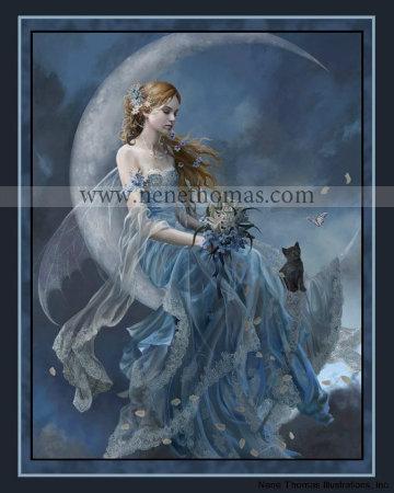 Wind Moon 8 x 10 Print