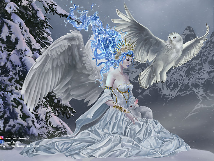 Spirit of Winter Art Print