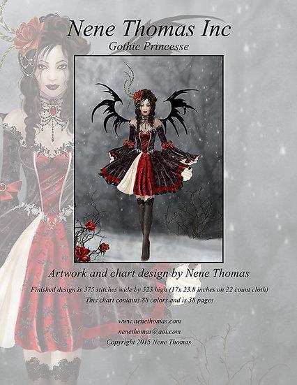 Gothic Princesse Regular Printed Cross-Stitch