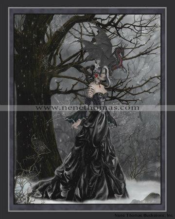 Queen of Shadows 8 x 10 Print