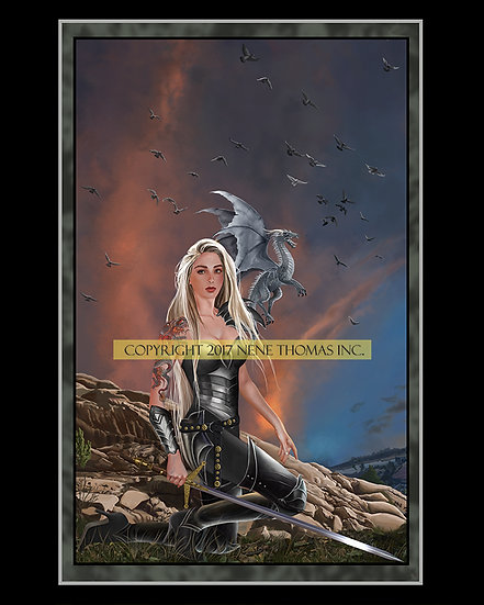 Bradamante, Lady of Steel 8 x 10 Print