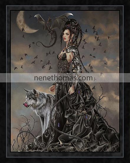 Bellamaestra, Lady of Pain 8 x 10  Print