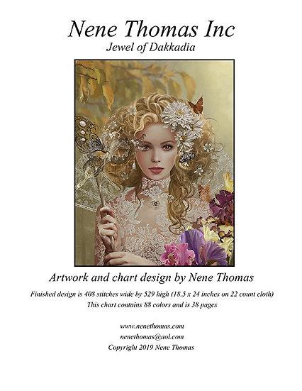 Jewel of Dakkadia Regular Printed Cross-Stitch