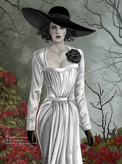 Lady Dimitrescu Art Print