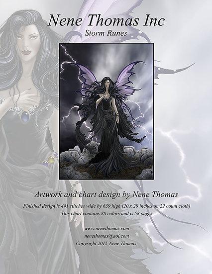 Storm Runes Regular Cross-Stitch (Downloadable PDF)