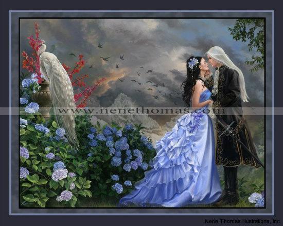 Lovers 8 x 10 Print