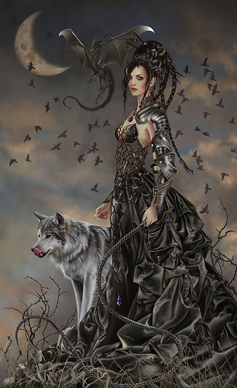 Bellamaestra, Lady of Pain Art Print