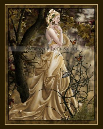 Last Queen of Illymar 8 x 10 Print