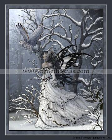 Queen of Owls 8 x 10 Print