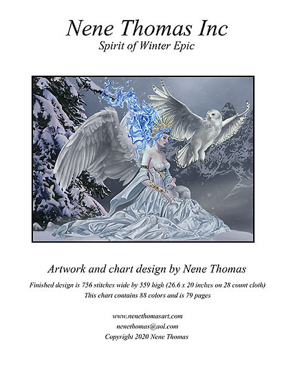 Spirit of Winter Epic Cross-Stitch (Downloadable PDF)