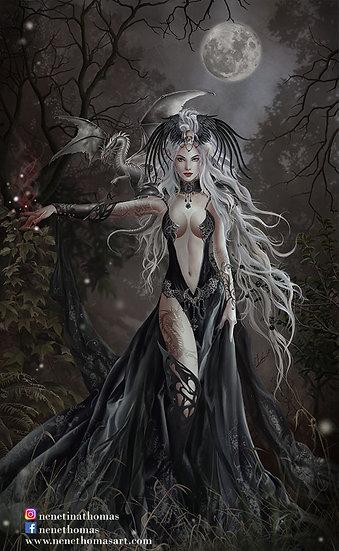 Queen of Havoc Art Print
