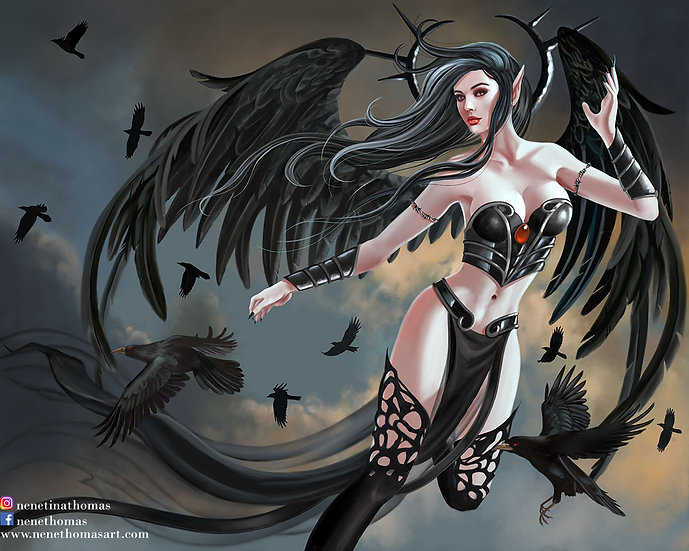 Thorn Angel Art Print