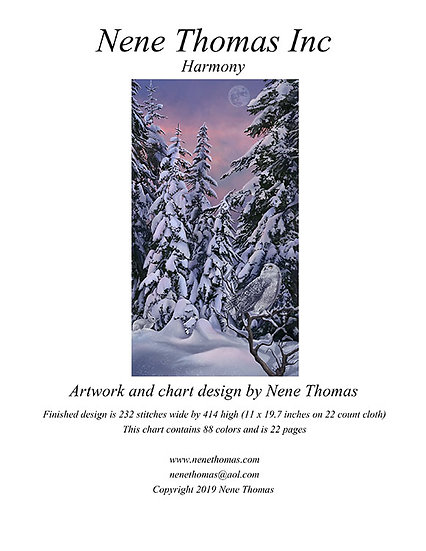 Harmony Regular Cross-Stitch (Downloadable PDF)