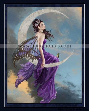 Moon Amethyst 8 x 10 Print