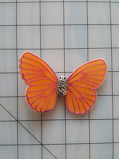 Assorted Colours Decorative Resin Butterfly