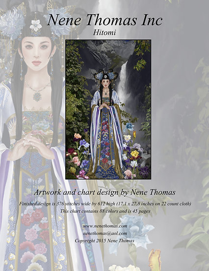 Empress Hitomi Regular Cross-Stitch (Downloadable PDF)