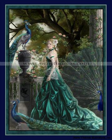 Emerald Hawthorn 8 x 10 Print