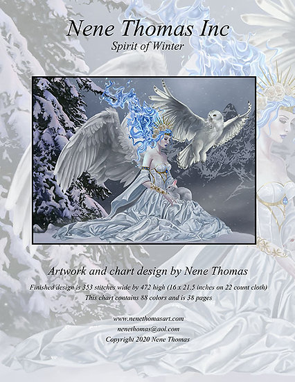 Spirit of Winter Regular Printed Cross-Stitch