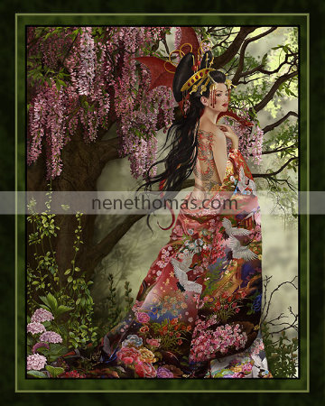 Queen of SIlk 8 x 10 Print