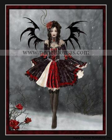 Gothic Princesse 8 x10 Print