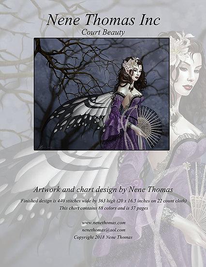 Court Beauty Regular Cross-Stitch (Downloadable PDF)