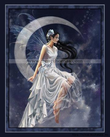 Frost Moon 8 x 10 Print