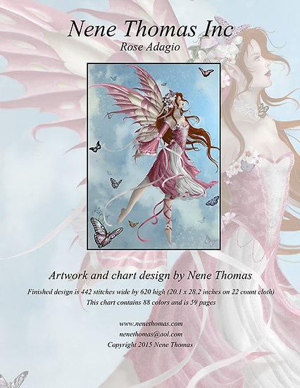 Orchestral Series #2: Rose Adagio Regular Cross-Stitch (Downloadable PDF)