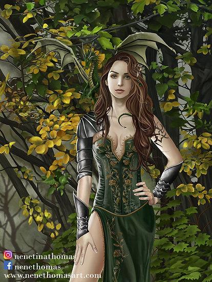 Astranaithes Portrait Art Print