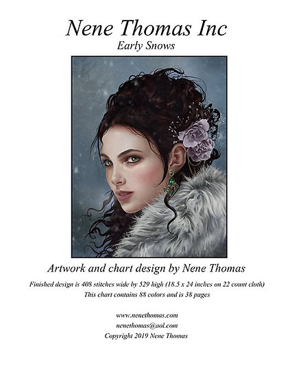 Early Snows Regular Printed Cross-Stitch
