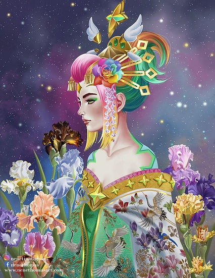 Neeko - Oiran Art Print