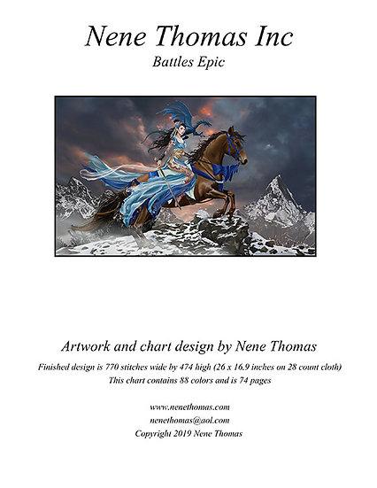 Battles Epic Cross-Stitch (Downloadable PDF)