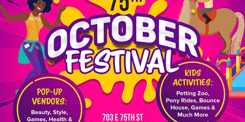 75th St October Festival