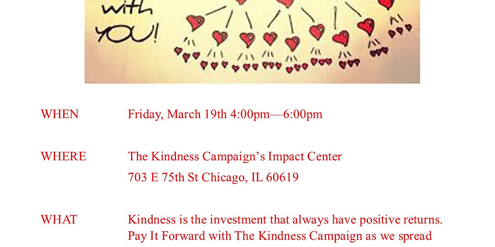 Pay It Forward With Kindness