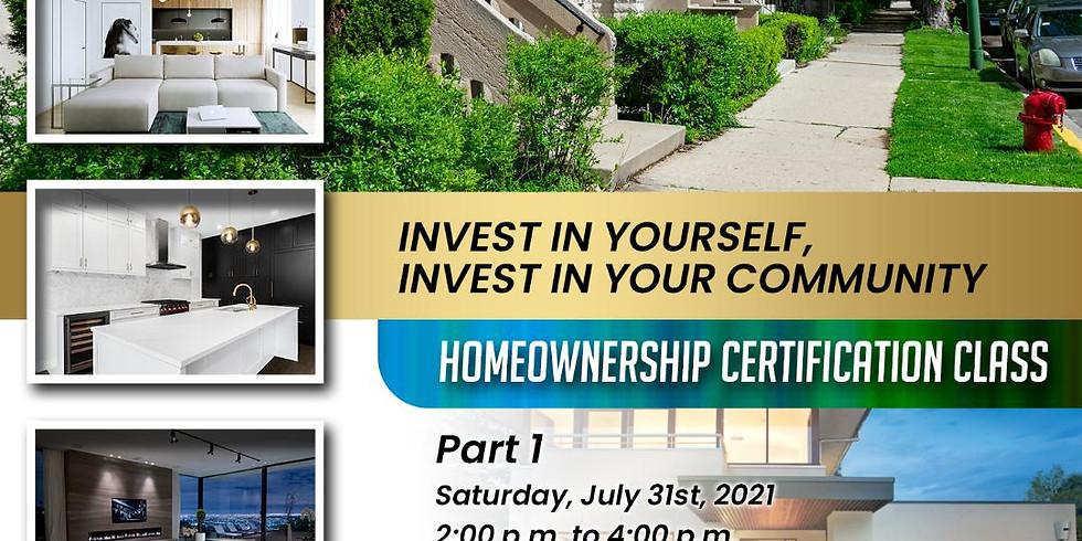 Buy The Block: Homeownership Certification Class