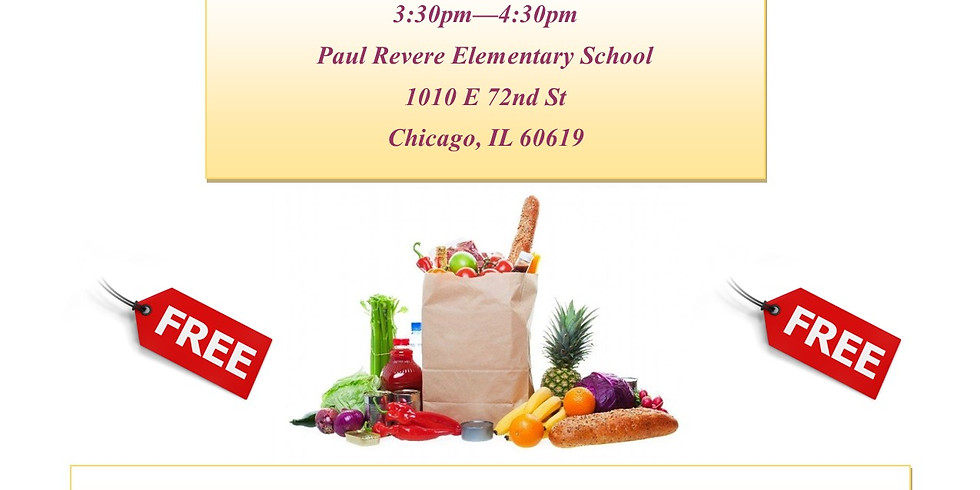 Paul Revere Elementary School Fresh Foods Market