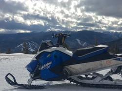 Incredible views of Red River Ski Area