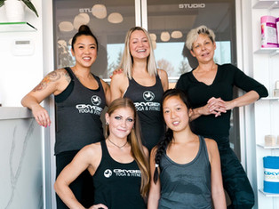 Oxygen Yoga + Fitness Kensington