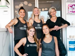 Oxygen Yoga + Fitness Kensington